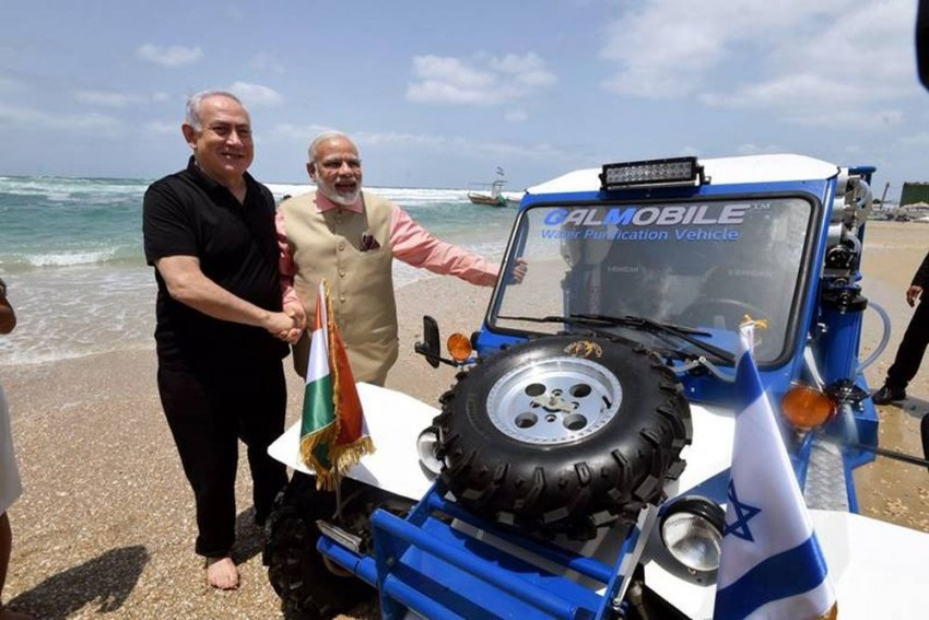 Israeli PM Benjamin Netanyahu To Gift Water Desalinisation Jeep To 'Friend' Modi
