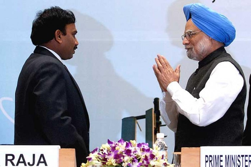 'I Remained Faithful Unlike Some Senior Cabinet Colleagues': A Raja's Letter To Manmohan After 2G Verdict