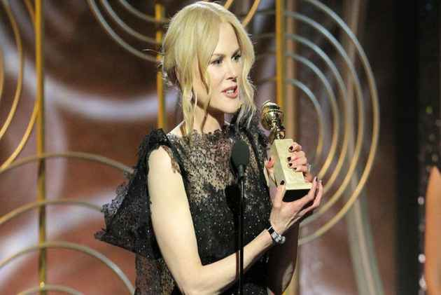 Golden Globes: Nicole Kidman Wins Best Performance By An Actress In A Limited Series
