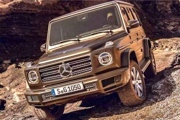 Mercedes-Benz Details New G-Class; Pictures Leaked Ahead Of Jan 15 Debut