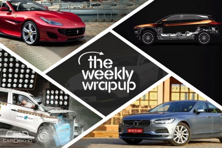 Weekly Wrap-up: Marazzo & Innova Crysta Compared, 2018 Aspire Bookings Open, Vitara Brezza Crash Tested & More