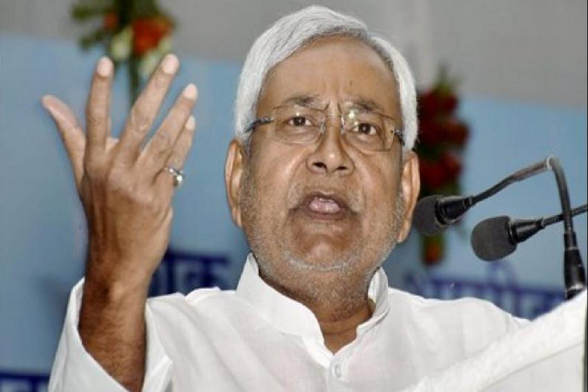 Sandal Thrown At Bihar CM Nitish Kumar, Student Arrested