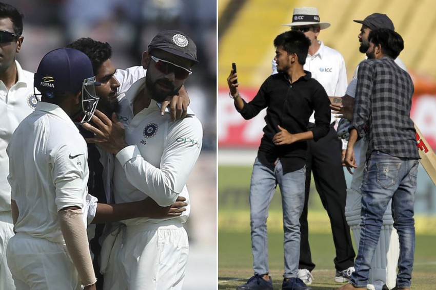 In Pics: Selfie With Virat! Cricket Fan Invades Pitch To Get Up Close With Skipper