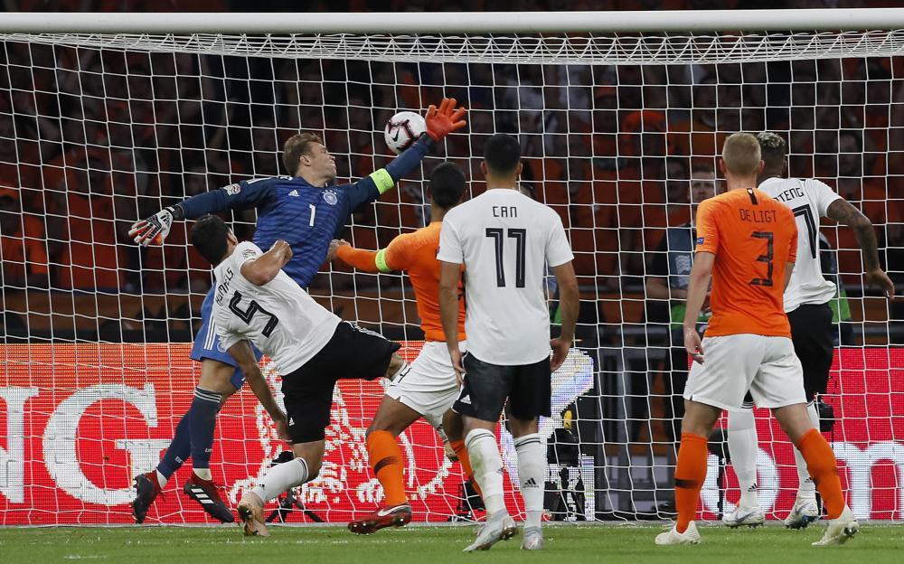 Uefa Nations League Netherlands Humble Germany 3 0