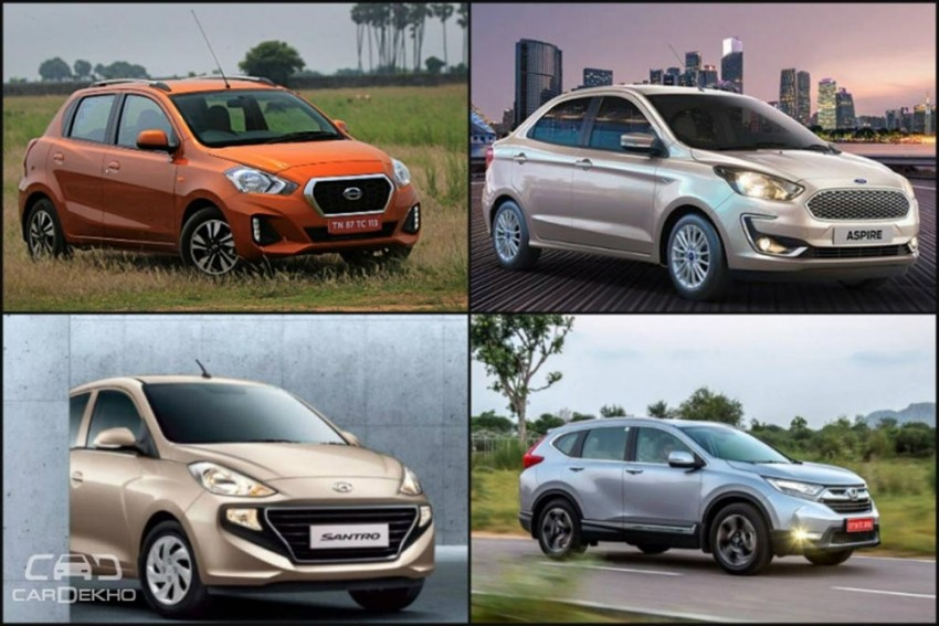 Weekly Wrapup: 2018 Honda CR-V, Ford Aspire Facelift, Datsun GO, GO+ Launched & More