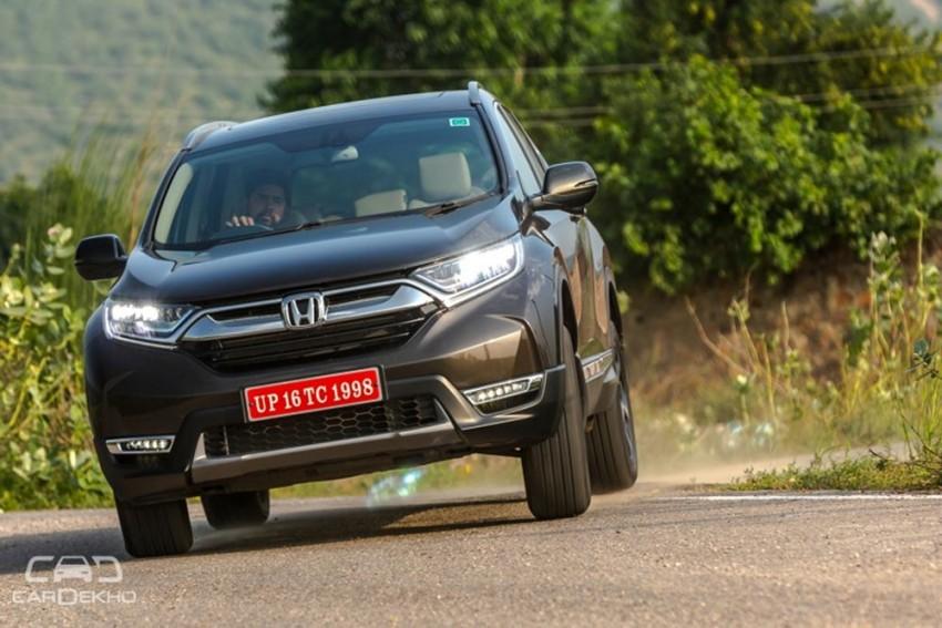 2018 Honda CR-V Launched At Rs 28.15 Lakh