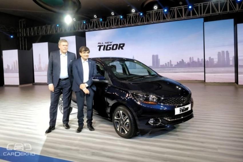 2018 Tata Tigor Launched At Rs 5.20 Lakh