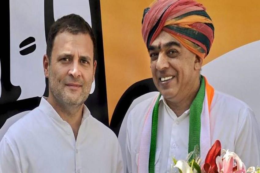 Jaswant Singh's Son Manvendra, Former BJP MLA Ashish Deshmukh Join Congress