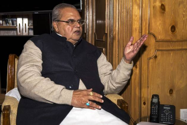 Militants Should Not Expect Bouquets If They Fire Bullets: J&K Governor Satya Pal Malik