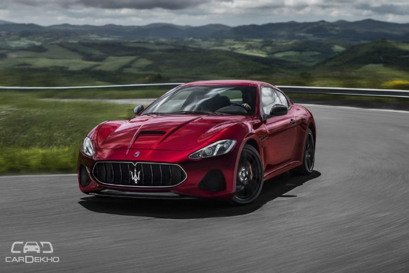 2018 Maserati GranTurismo Launched In India At Rs 2.25 Crore