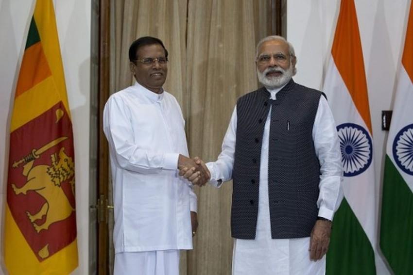 Sri Lankan PM Ranil Wickremesinghe On Three-Day Visit To India