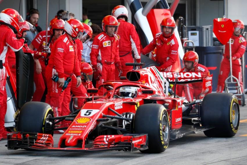 US Grand Prix: Vettel Promises 'Aggressive' Race To Stall Hamilton's Victory March