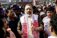 Muslims Are Descendants Of Lord Ram, Should Help Build Temple: Giriraj Singh