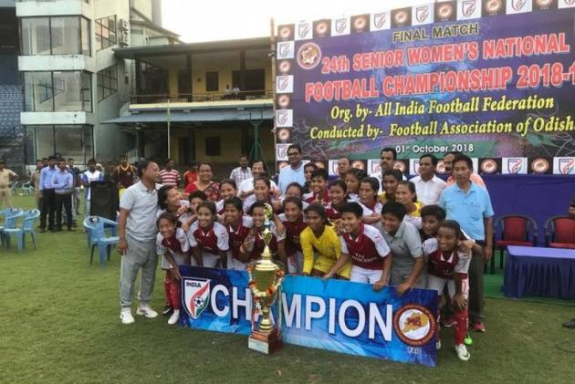 Manipur Win Record-Extending 19th Women's National Football Championship Crown