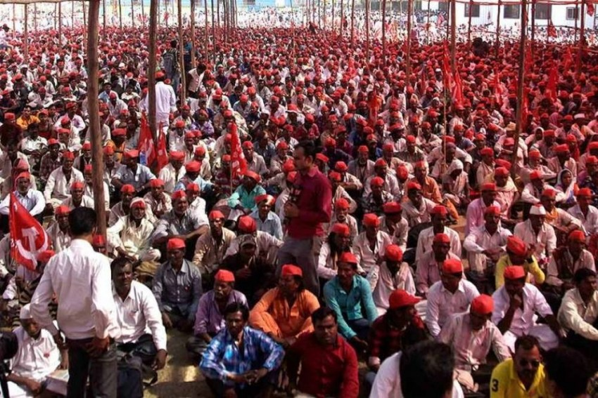 Thousands Of Farmers To March To Delhi Today, Security Tightened
