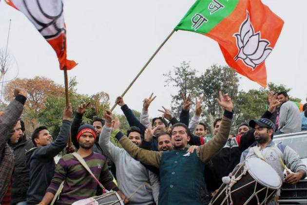 J&K Urban Local Body Polls: BJP Sweeps In 4 Districts In South Kashmir, Congress Gets All 13 Seats In Leh