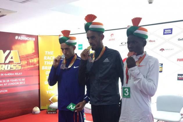 Ethiopians Dominate Delhi Half Marathon: Tsehay Gemechu Sets Course Record, Andamalak Belihu Wins Men's Race