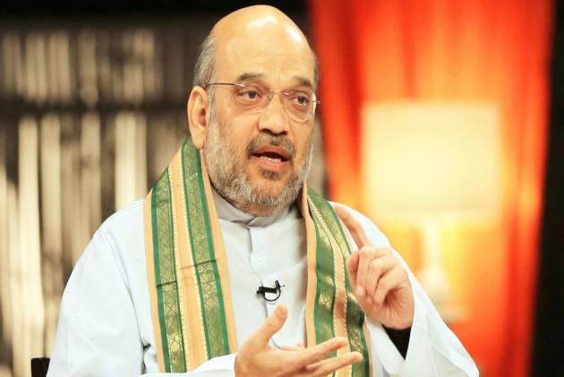 Amit Shah visits Telangana to estimate loss of BJP