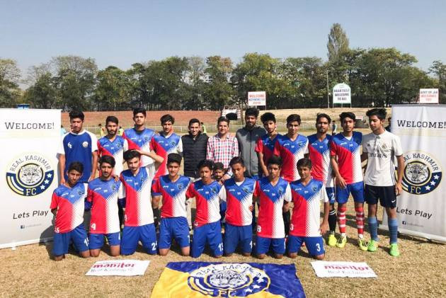 I-League: First-Timers Real Kashmir Pull Off Huge Sponsorship Coup