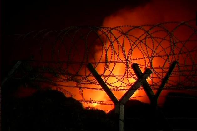 Fire In Delhi's Bhalswa Landfill Out Of Control Even After A Day