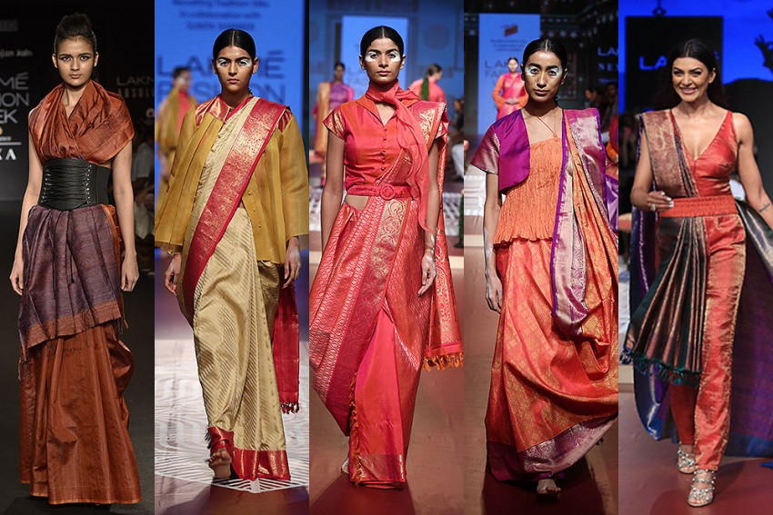 Unconventional Ways To Drape A Sari This Diwali
