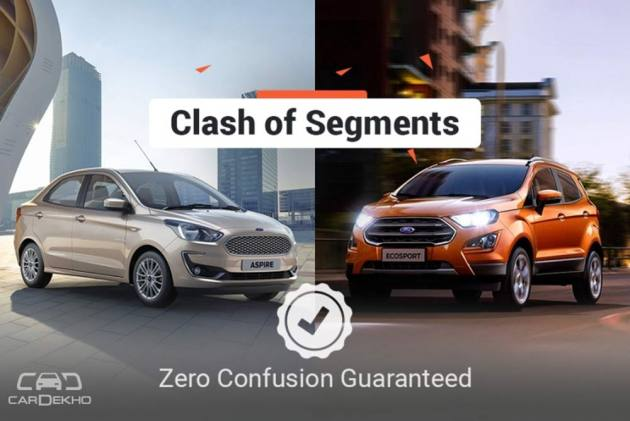Clash of Segments: Ford Aspire vs Ford EcoSport - Which Car To Buy?
