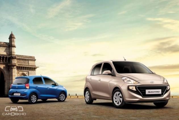 New Hyundai Santro Launched At Rs 3 89 Lakh