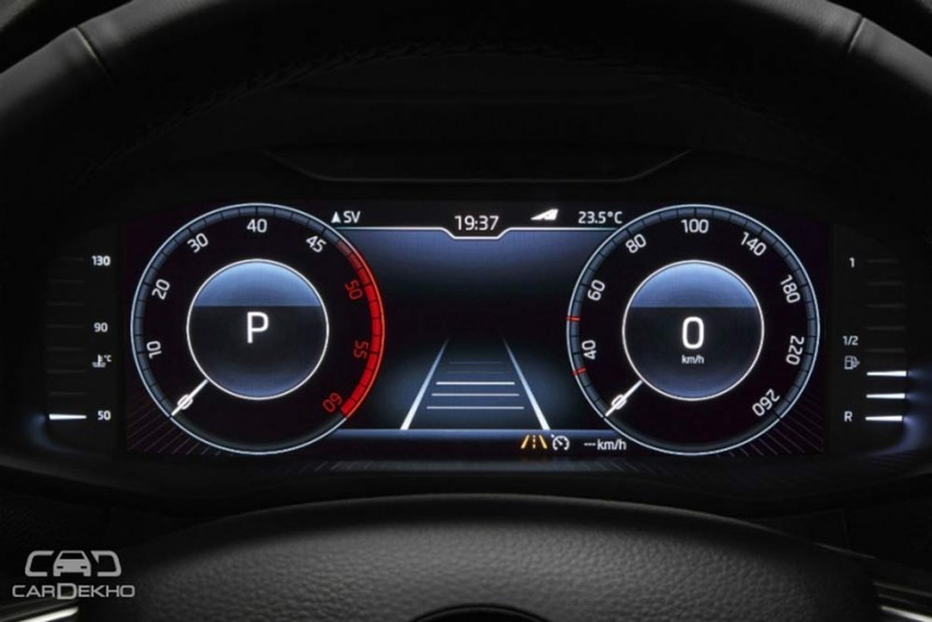 Skoda Octavia Now Available With Fully Digital Instrument Cluster