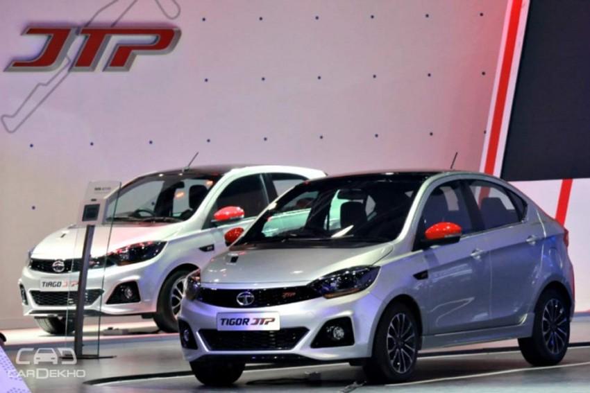 Tata Tiago JTP, Tigor JTP Launch On 26 October