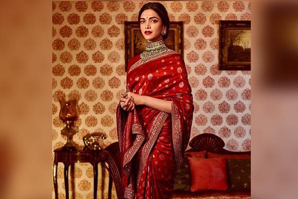 Deepika Padukone Looks Stunning In Sabyasachi's Latest Wedding Collection