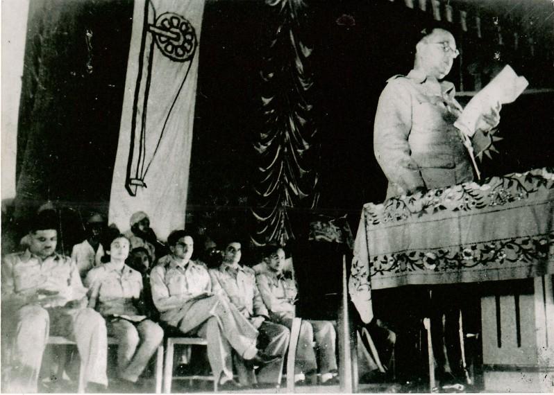 Establishment of Azad Hind Fauz in Singapore