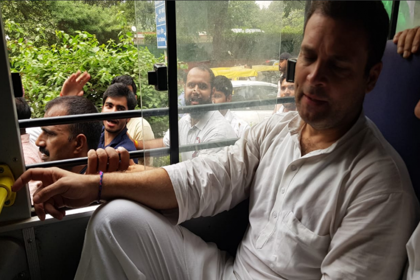 Opposition Protest At CBI Headquarters: Twitter Ninjas Take To Streets