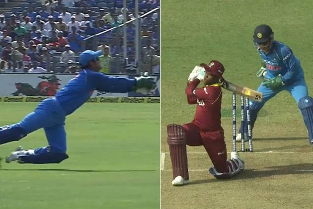 IND Vs WI, 3rd ODI: Dhoni Sends Message To Selectors After Unceremonious Dropping – Watch