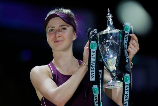 WTA Finals: Elina Svitolina Beats Sloane Stephens To Claim Season-Ending Trophy