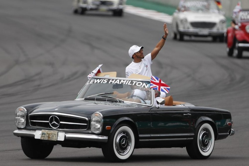 Mexican Grand Prix: Lewis Hamilton Claims Fifth World Title