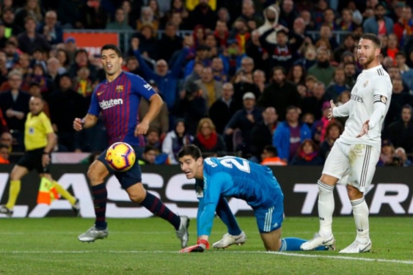 El Clasico: No Messi, No Problem For Barca; Suarez Hat-Trick Sinks Real