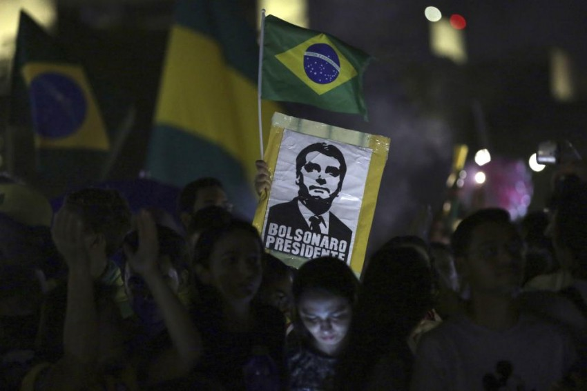 Right Wing Former Army Captain Jair Bolsonaro Wins Brazil Presidential Vote