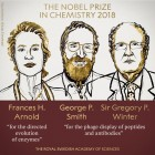 Frances Arnold, George Smith, Gregory Winter Win 2018 Nobel Prize In Chemistry
