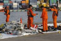 Indonesia Rescuers Find More Body Parts From Crashed Lion Air Jet