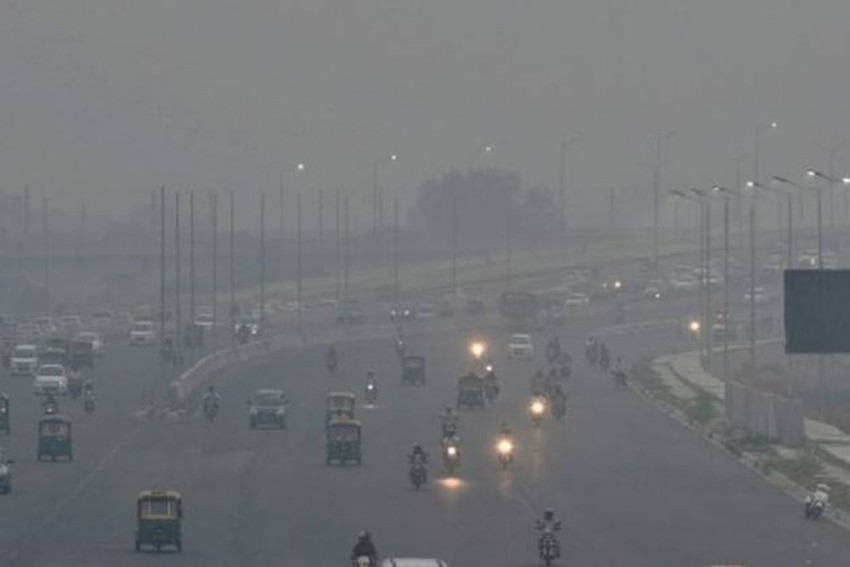 Delhi Records Season's Worst Air Quality Level On Tuesday