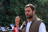 RBI Guv Finally Defending Bank From 'Mr 56': Rahul Gandhi