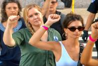 Amy Schumer And Emily Ratajkowski Arrested During Protest Against Kavanaugh In Washington DC