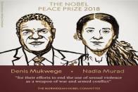 Denis Mukwege And Nadia Murad Awarded 2018 Nobel Peace Prize