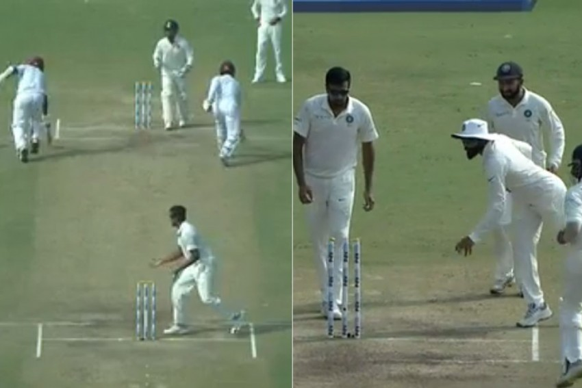 India Vs West Indies, 1st Test: Watch Hilarious Run Out By Ravindra Jadeja – Video