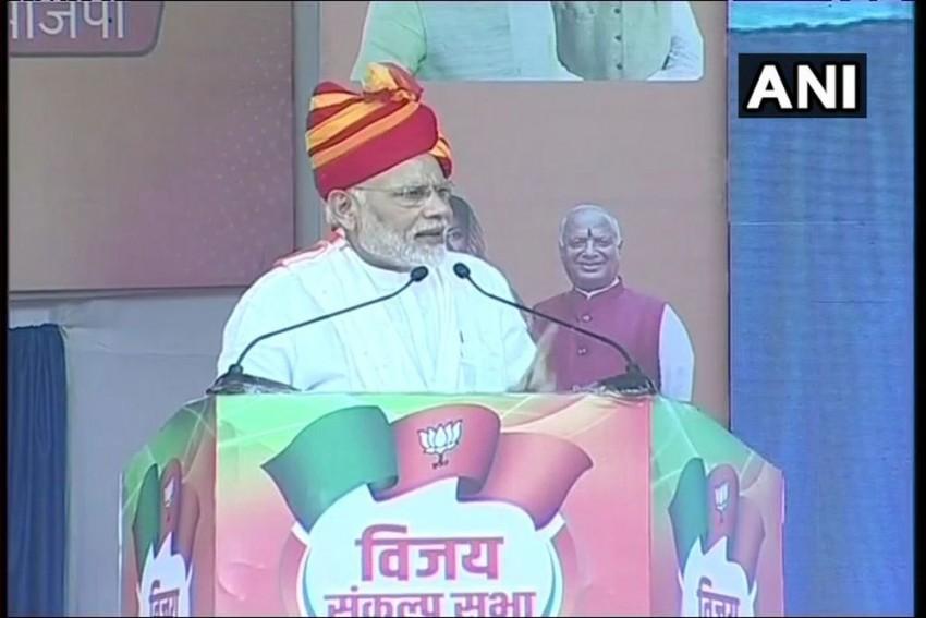 Congress Spreading Lies And Doing Vote Bank Politics: Modi