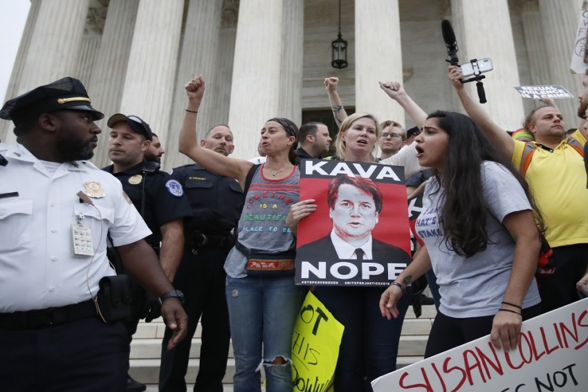 Protests Over Kavanaugh's Elevation To US Supreme Court Continue Despite Confirmation