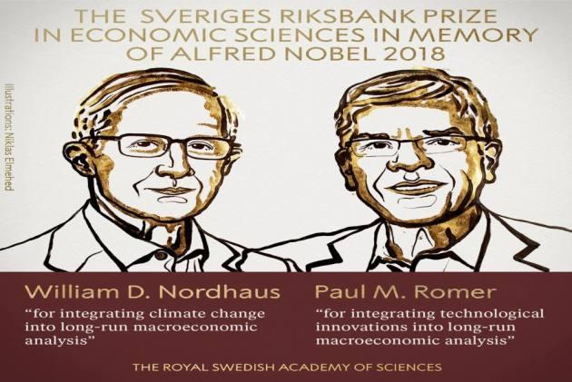 William Nordhaus, Paul Romer Win 2018 Nobel Prize For Economics