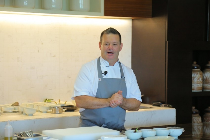 Welcome To Master Chef Table With Gary Mehigan