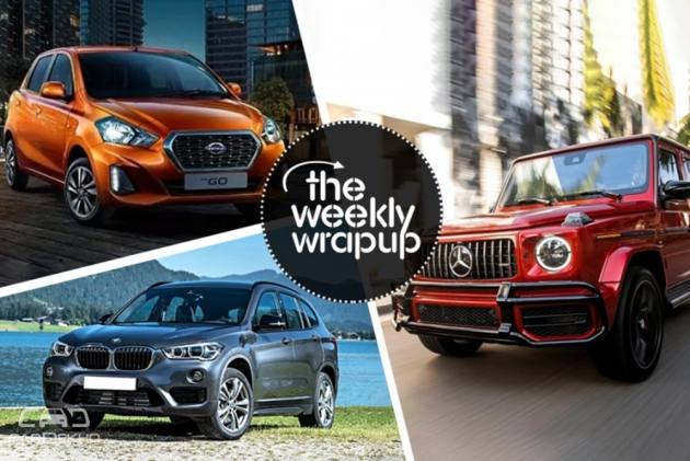 Weekly Wrap-up: 2018 Ford Aspire, BMW X1 Petrol Launched, Datsun Go, Go+ Bookings Open, Renault Kwid EV And More