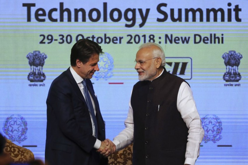 Technology Tie-Ups Dominate Italian Prime Minister Conte's Visit To India